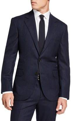 Brunello Cucinelli Men's Wide Pinstriped Two-Piece Suit