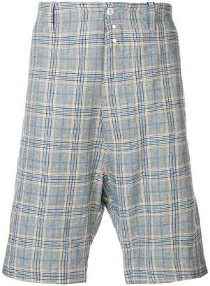 Vivienne Westwood checked bermuda shorts