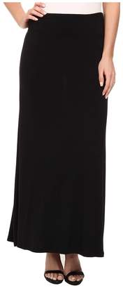 Kensie Light Weight Viscose Spandex Maxi Skirt KS9K6S02 Women's Skirt