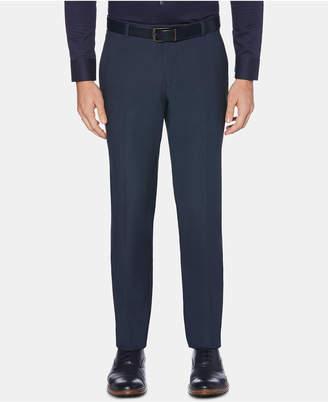 943aedb551ba Perry Ellis Men Portfolio Extra-Slim Fit Performance Stretch Heather Non-Iron  Dress Pants