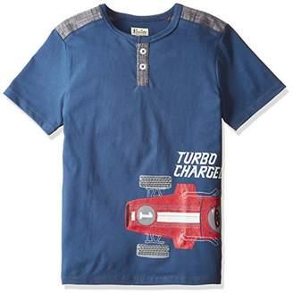 Hatley (ハットレイ ボーイズ Tシャツ TS5CARS395 ネイビー 8Y(135cm) 日本130-140cm