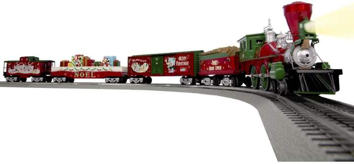 """Lionel Trains Disney """"Mickey's Holiday to Remember"""" LionChief Ready-to-Run O-Gauge Train Set"""