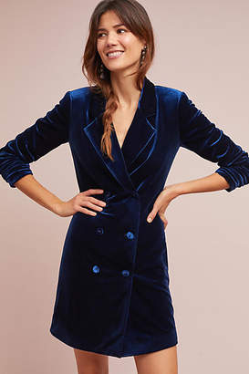 Yumi Kim Velvet Blazer Dress