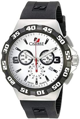 Lancer Calibre Men's SC-4L2-04-001 Stainless Steel Watch with Black Rubber Band