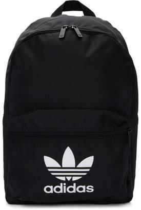 eaa70d73af adidas Black Adicolor Classic Trefoil Backpack