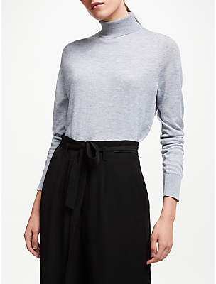 John Lewis & Partners Relaxed Roll Neck Sweater