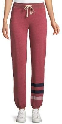 Sundry Striped Drawstring Sweatpants