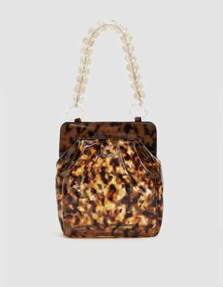 Maryam Nassir Zadeh Glow Purse in Tortoise Film