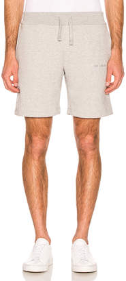 Leon Aime Dore French Terry Shorts in Heather Grey | FWRD