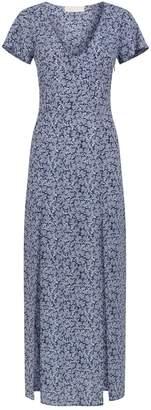 Michael Kors Coral Print Maxi Dress