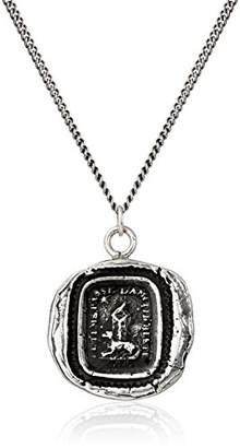 "Pyrrha talisman"" Sterling Friendship Necklace"