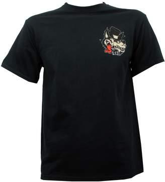 Lucky Brand Lucky 13 Men's No Club Top Hat Lone Wolf T-Shirt XL