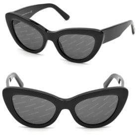 Balenciaga 53MM Cat Eye Sunglasses