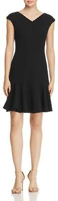 Rebecca Taylor Anna Scallop-Trimmed Dress - 100% Exclusive