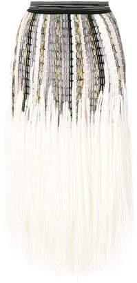 Missoni knitted full skirt