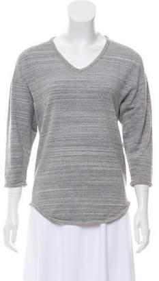 Etoile Isabel Marant Three-Quarter Sleeve V-neck Top