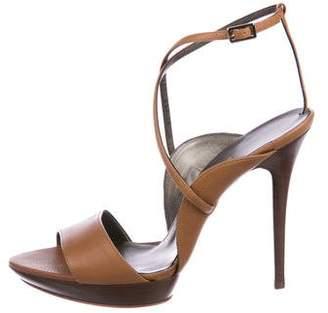 Salvatore Ferragamo Gilina Leather Sandals w/ Tags