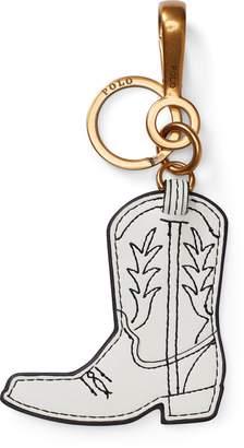 Ralph Lauren Leather Cowboy Boot Key Chain
