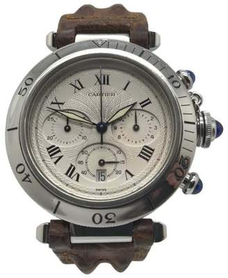 Cartier Pasha Stainless Steel 38mm Mens Watch
