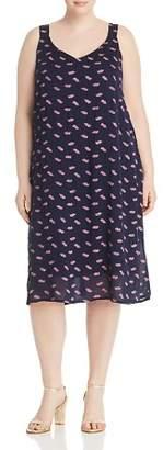 Bobeau B Collection by Curvy Autumn Printed Slip Dress