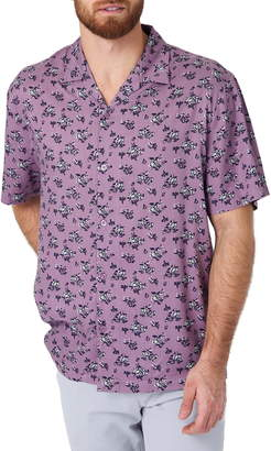 7 Diamonds Johnny B Goode Slim Fit Floral Camp Shirt