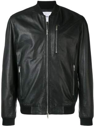 Dondup zipped bomber jacket