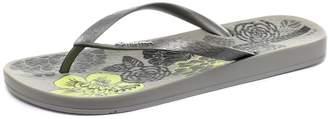 Ipanema Women's ANATOMICA TEMAS VI Flip Flops, Black/Black