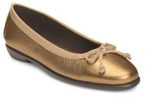 Aerosoles Fast Bet Classic Leather Ballet Flats