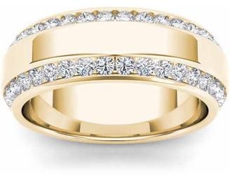 Imperial Diamond Imperial 7/8 Carat T.W. Diamond Men's 14kt Yellow Gold Wedding Band