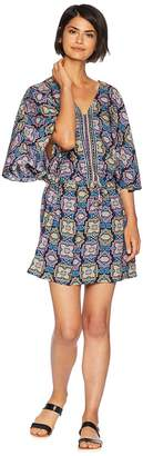 Seafolly Sun Temple Kaftan Cover-Up Women's Swimwear