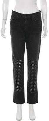 J Brand Straight-Leg High-Rise Jeans