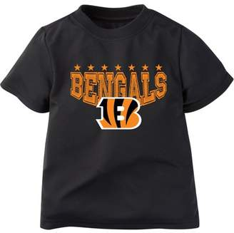 NFL Cincinnati Bengals Boys Short Sleeve Performance Team T Shirt