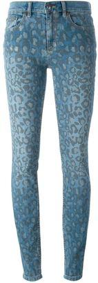 Marc By Marc Jacobs leopard print jeans $286.26 thestylecure.com