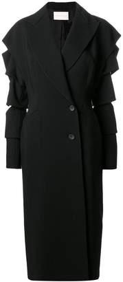 Christopher Kane slashed-sleeve coat