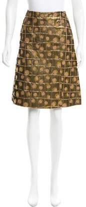 Marni Patterned Knee-Length Skirt