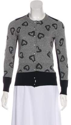 Marc by Marc Jacobs Metallic Knitted Cardigan