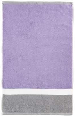 Pottery Barn Teen Color Block Hand Towel, Lavender