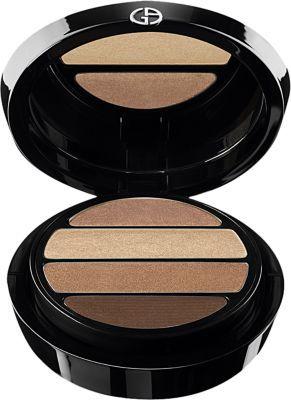 Armani Women's Eyes To Kill Eyeshadow Quad Shimmers-BEIGE $60 thestylecure.com
