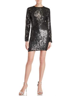 Endless Rose Sequin Long Sleeve Dress