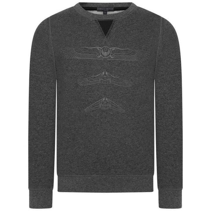 Frankie MorelloBoys Grey Tyson Sweater
