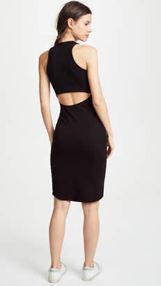 Monrow Cutout Back Dress