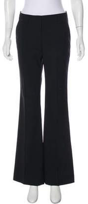 Burberry Mid-Rise Wide-Leg Pants
