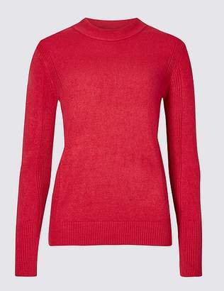 Marks and Spencer Textured Turtle Neck Jumper