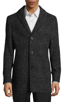Black & Brown Black Brown Plaid Sportcoat