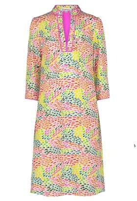 Libelula Longer Beach Dress Droplets Print