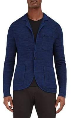 EFM-Engineered for Motion Mast Knitted Wool Blazer