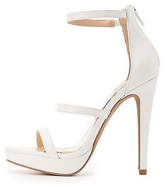 Three-Piece Platform Dress Sandals $32.99 thestylecure.com