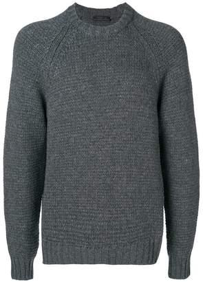 Prada cashmere chunky knit jumper