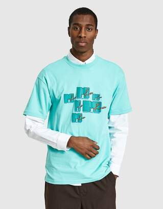 Martine Rose Mtv T-Shirt in Mint Green