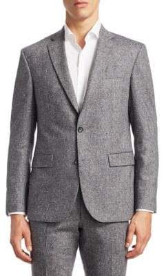 Saks Fifth Avenue MODERN Donegal Suit Jacket